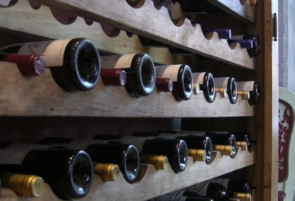 wine storage in a self storage unit